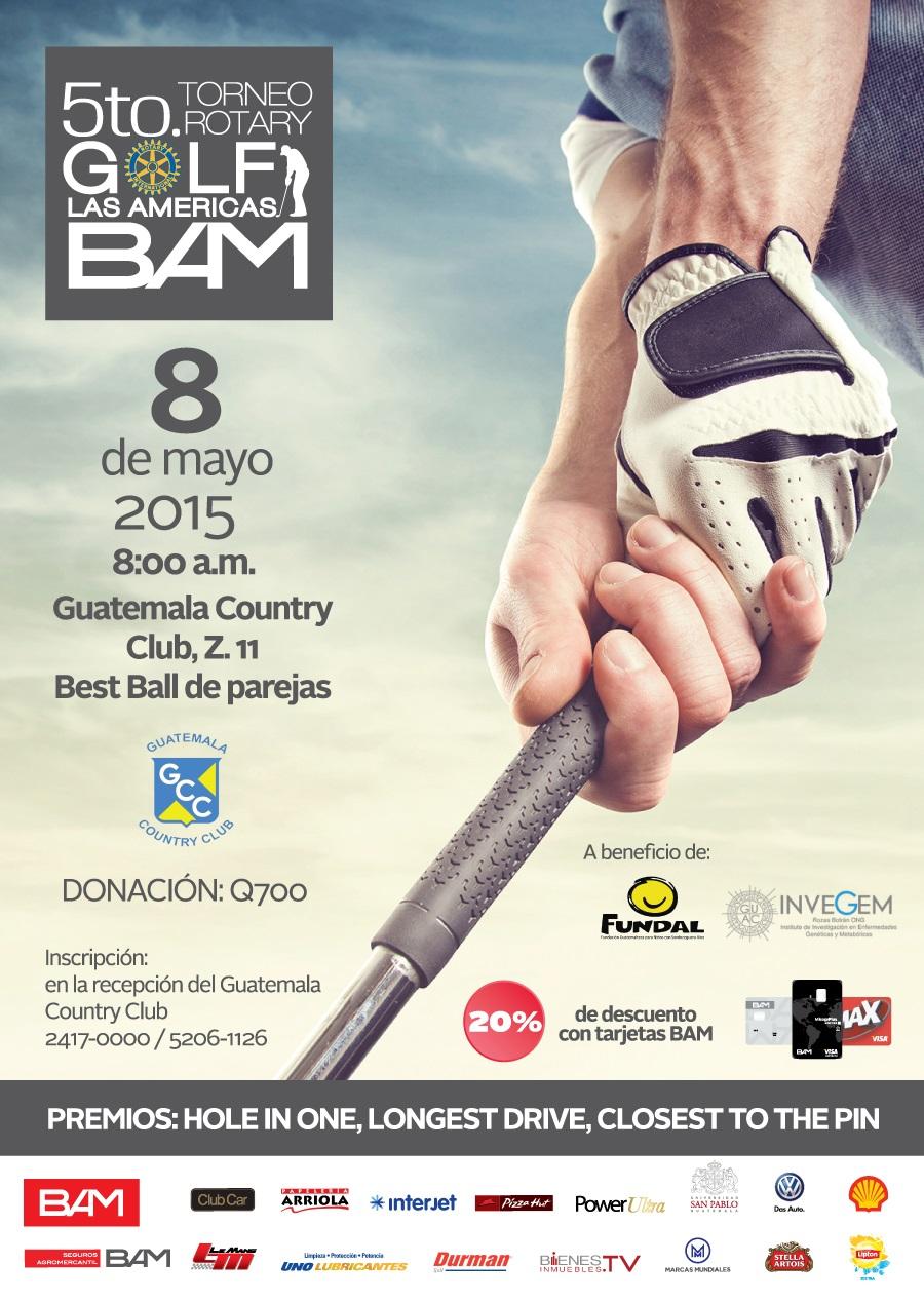 Torneo Rotary Golf Las Americas BAM