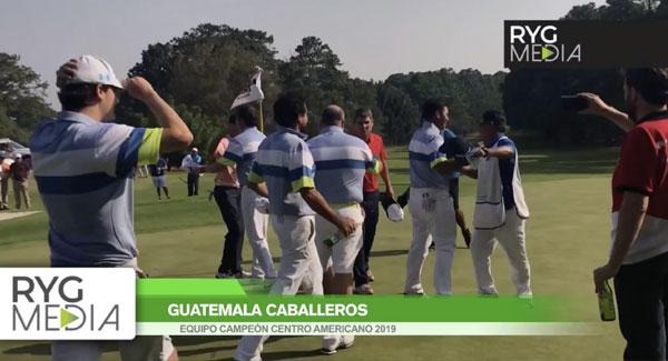 Guatemala gana campeonato centroamericano 2019 | RYG Media