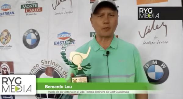 Campeones 2do Torneo Shriners de Golf Guatemala. | RYG Media